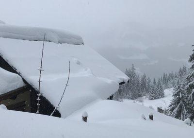 Sneeuwschoen wandeling naar Ubine 1