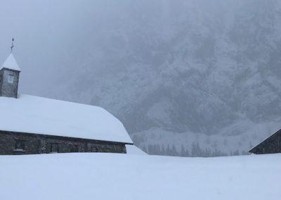 Sneeuwschoen wandeling naar Ubine 3