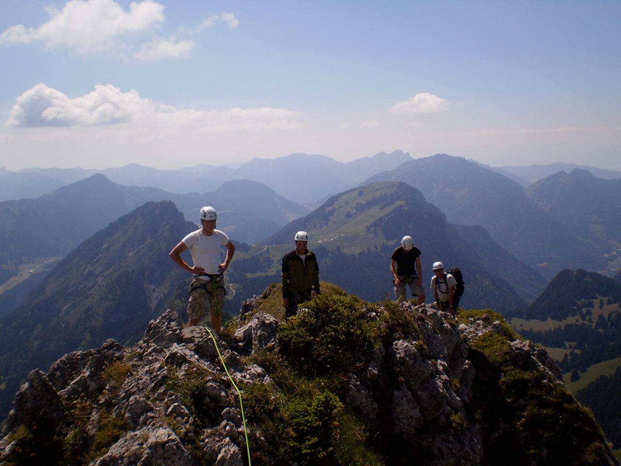 Activiteiten - Alpinisme Mont Chauffé