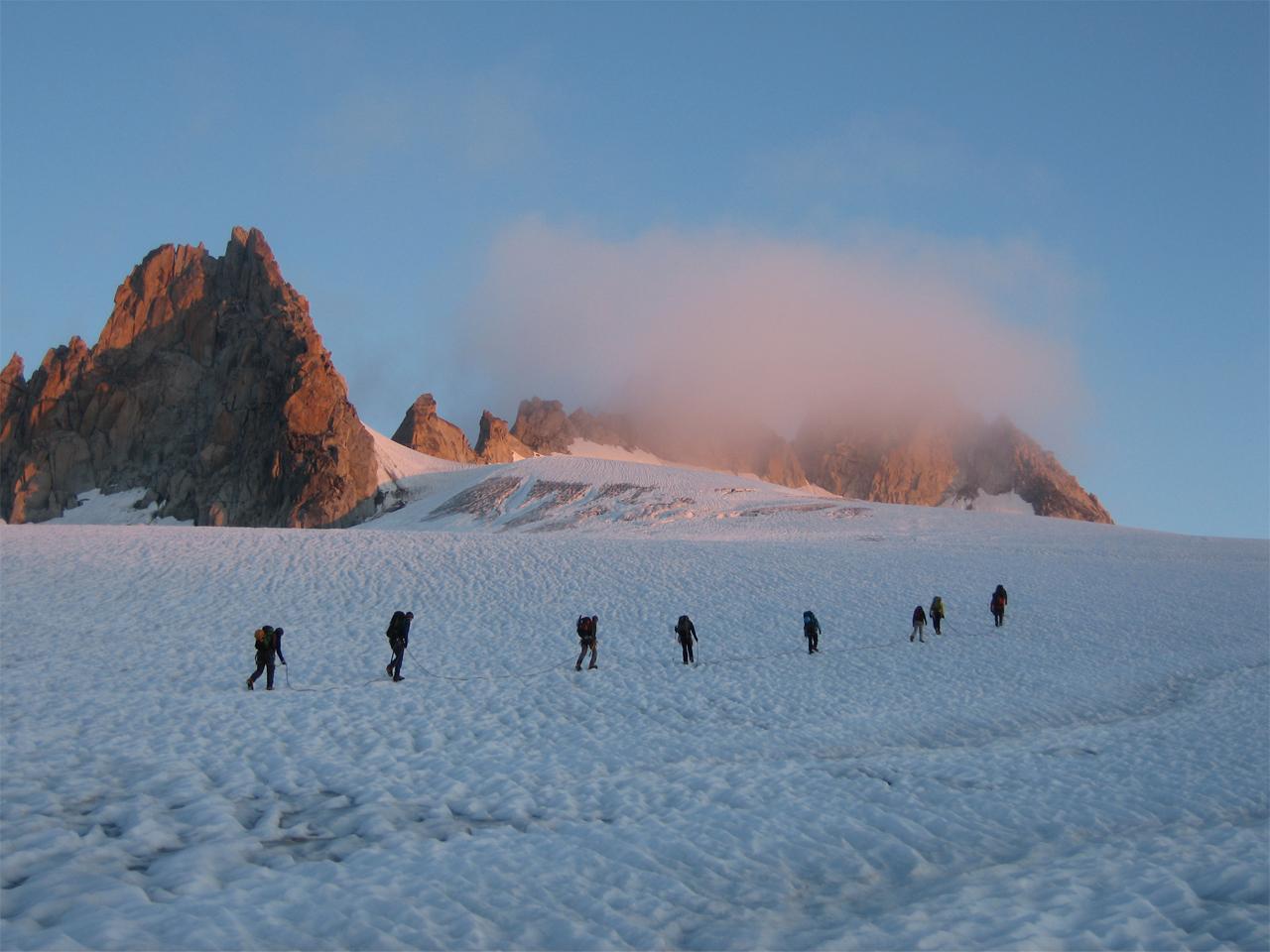 Activiteiten - Alpinisme Trient touwgroep