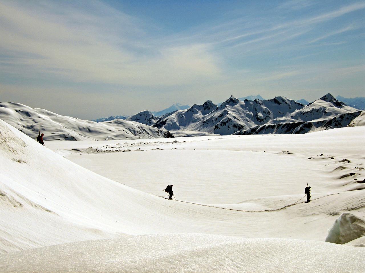 Activiteiten - Alpinisme gletser