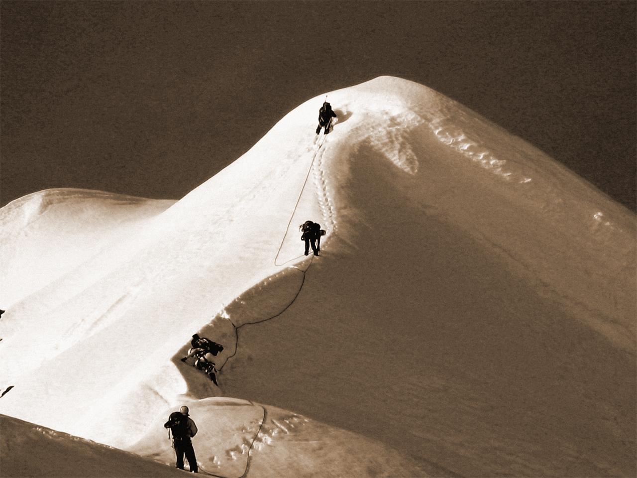 Activiteiten - Alpinisme sneeuwgraad