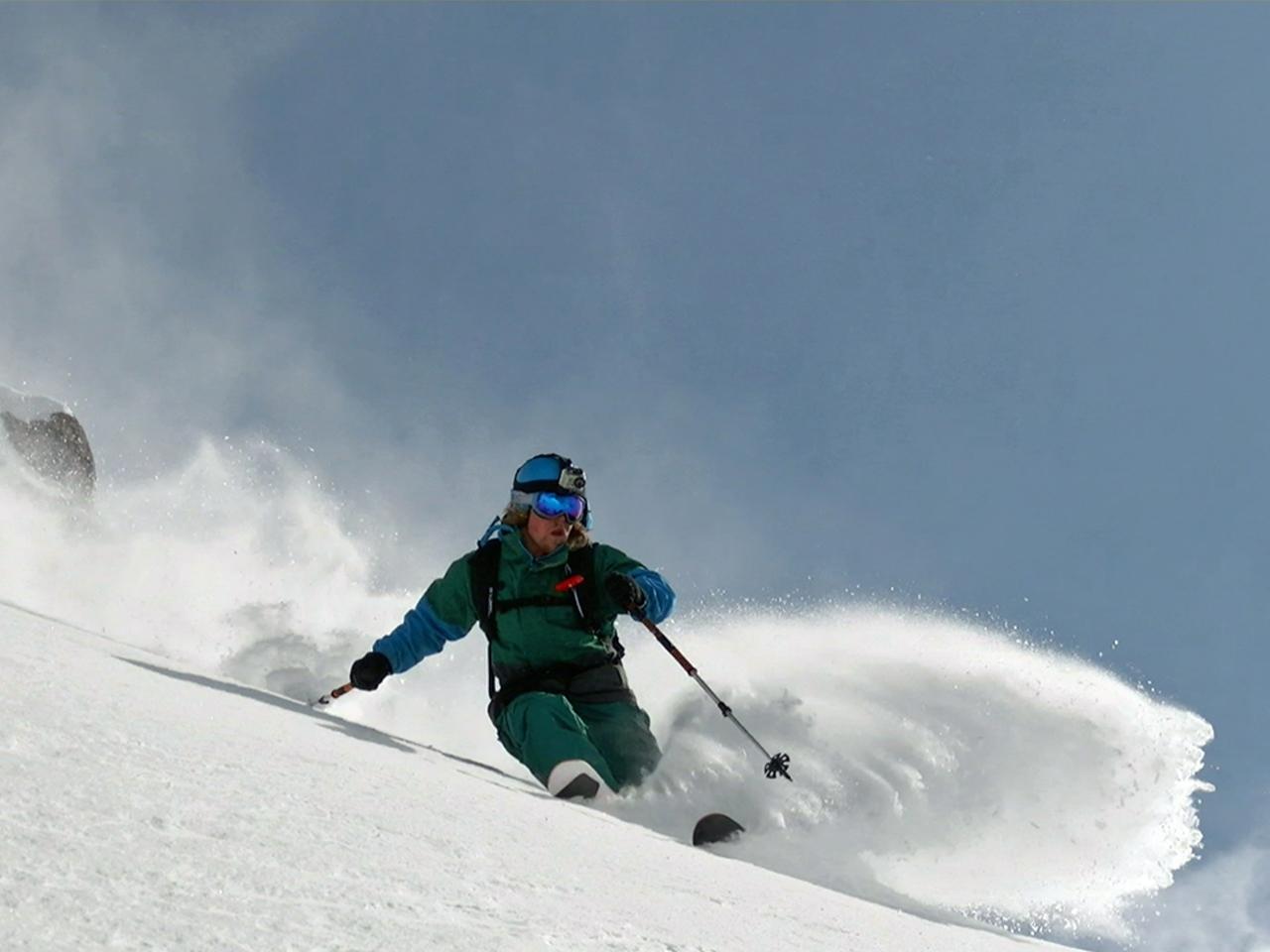 Activiteiten - Freeride sneeuw spray