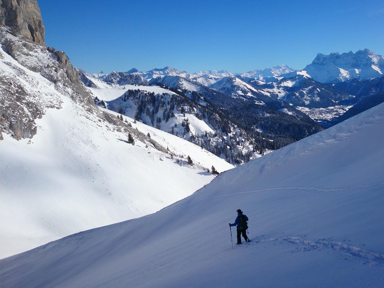 Activiteiten - Sneeuwwandelen Pas de la Bosse