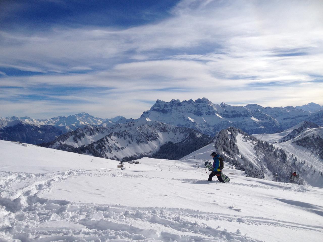 Activiteiten - Snowboarden PDS
