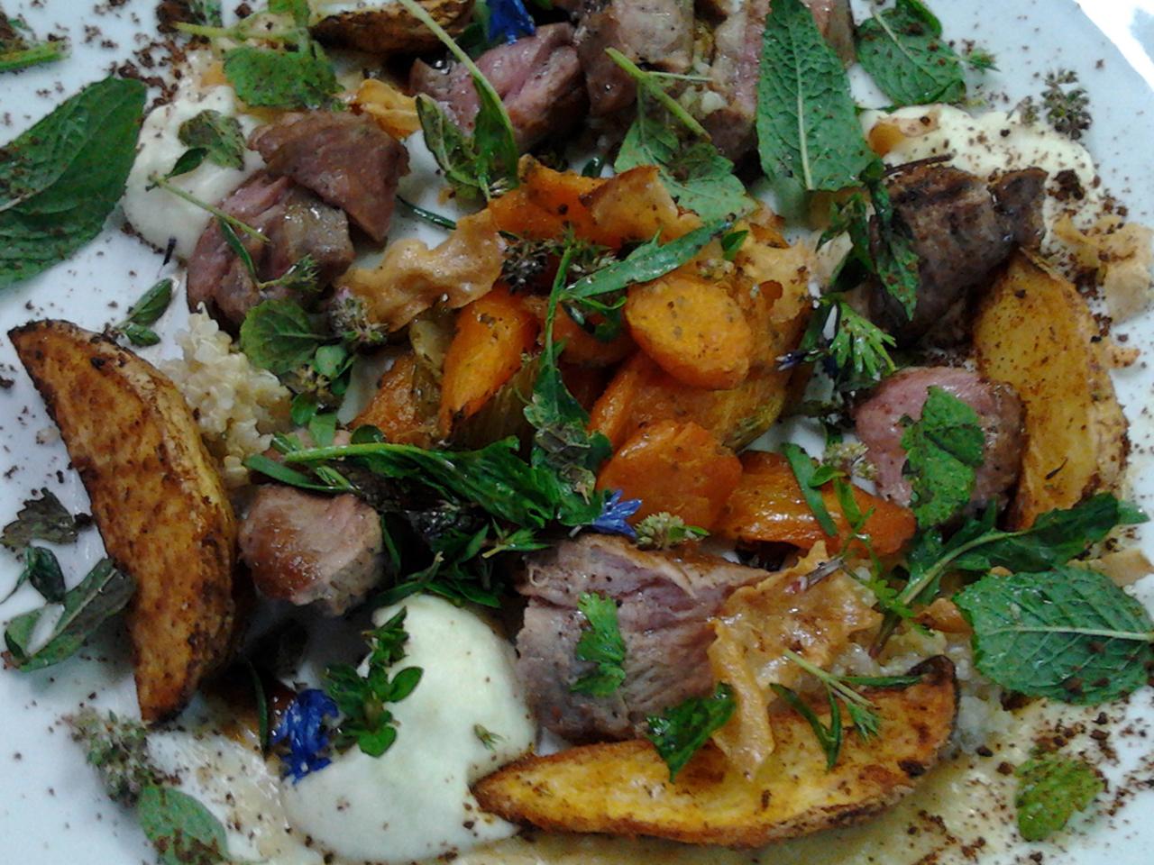 Eten - Lam met tuinkruiden