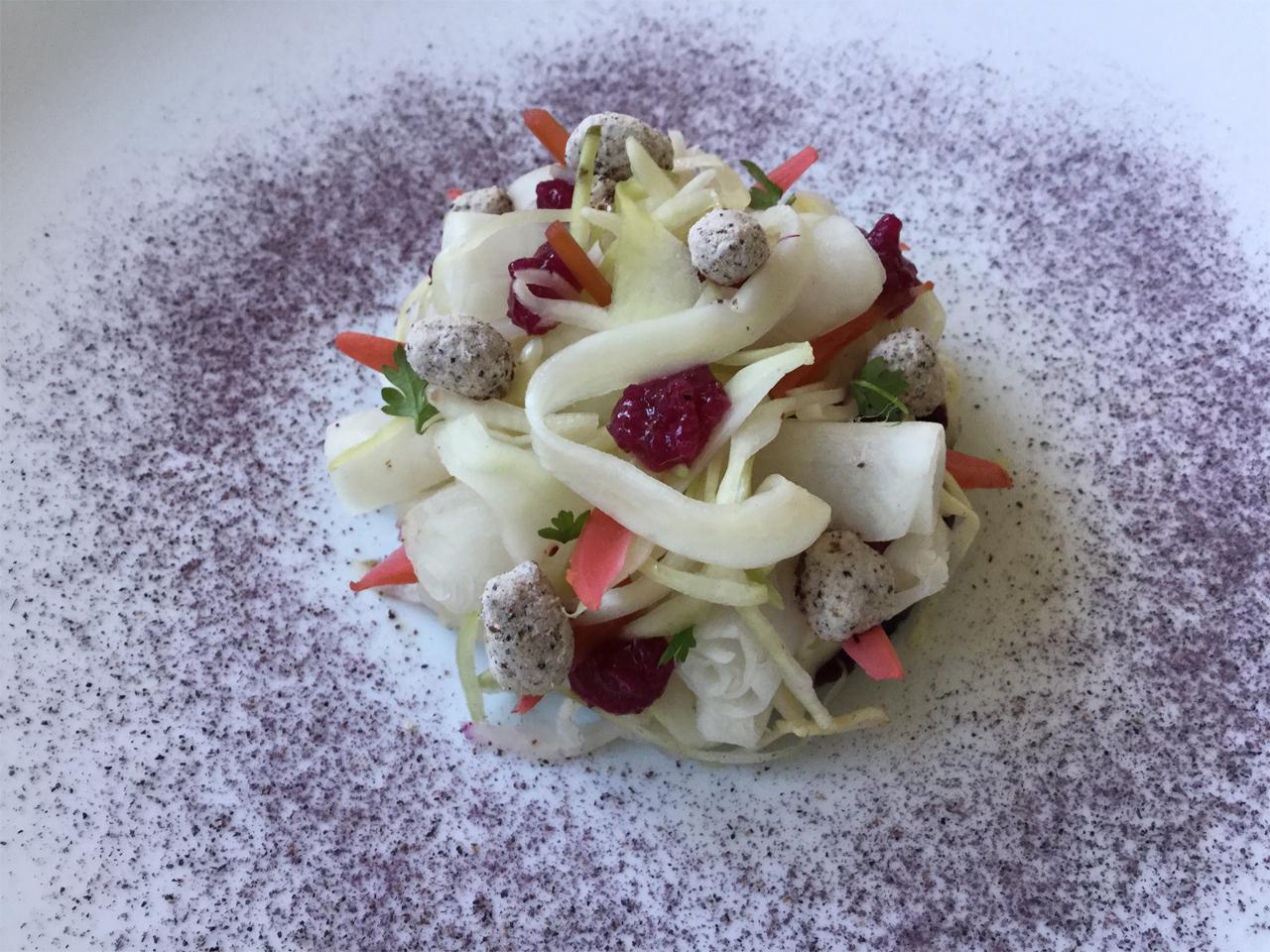 Eten - Salade van kool en rettich