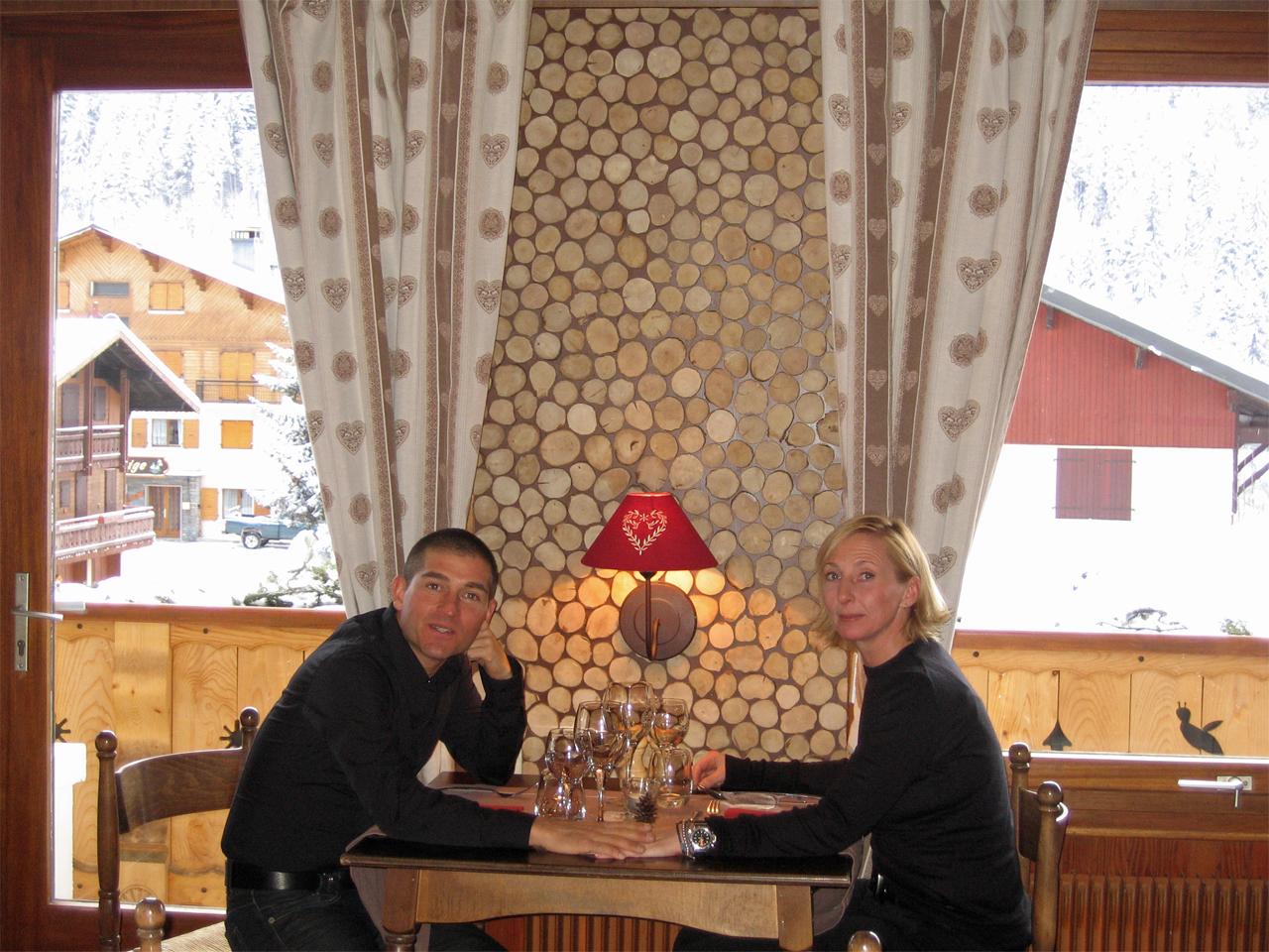 Hotel - Oud personeel Pam & Philippe