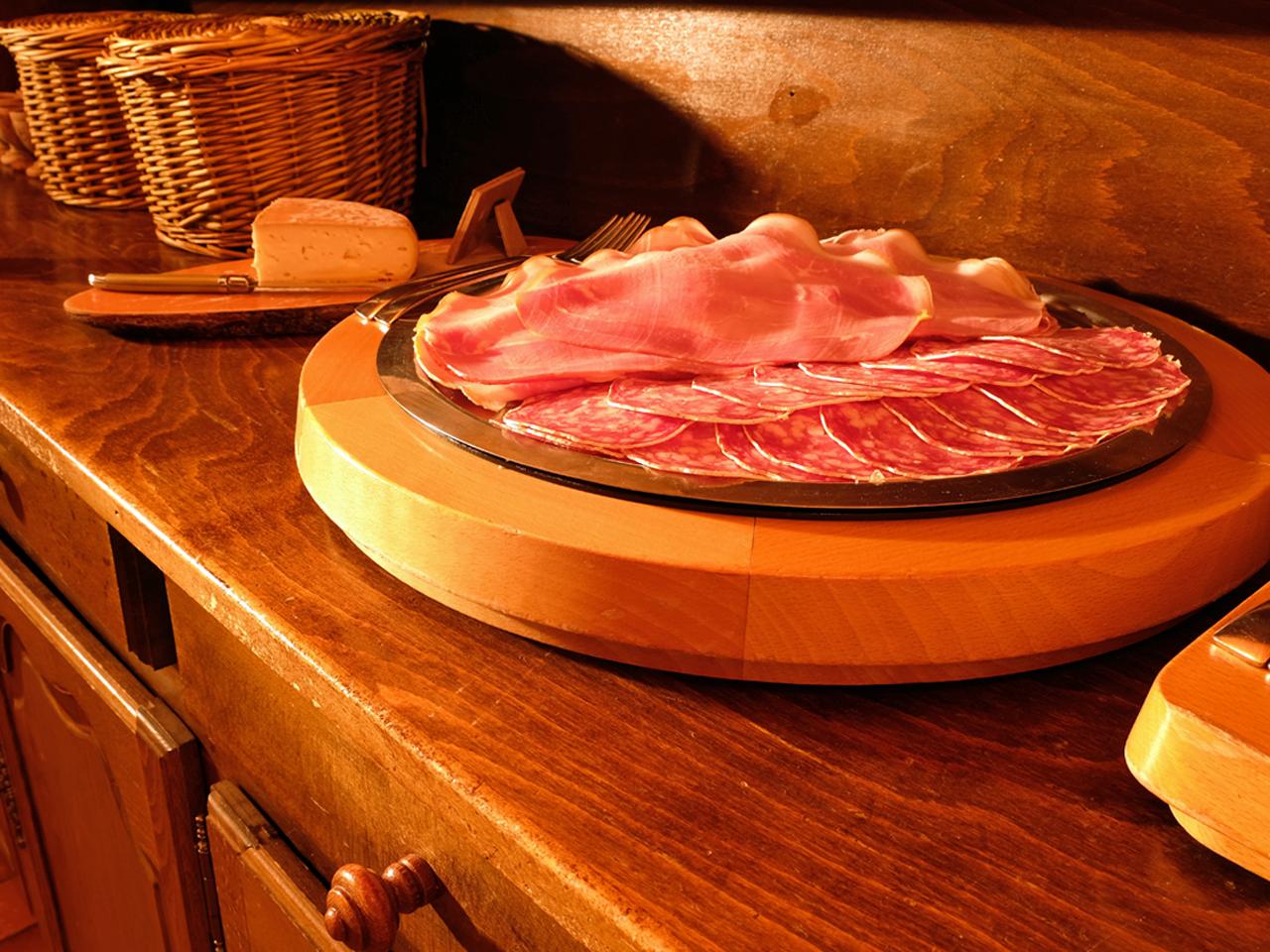 Ontbijt - Ham en rosette
