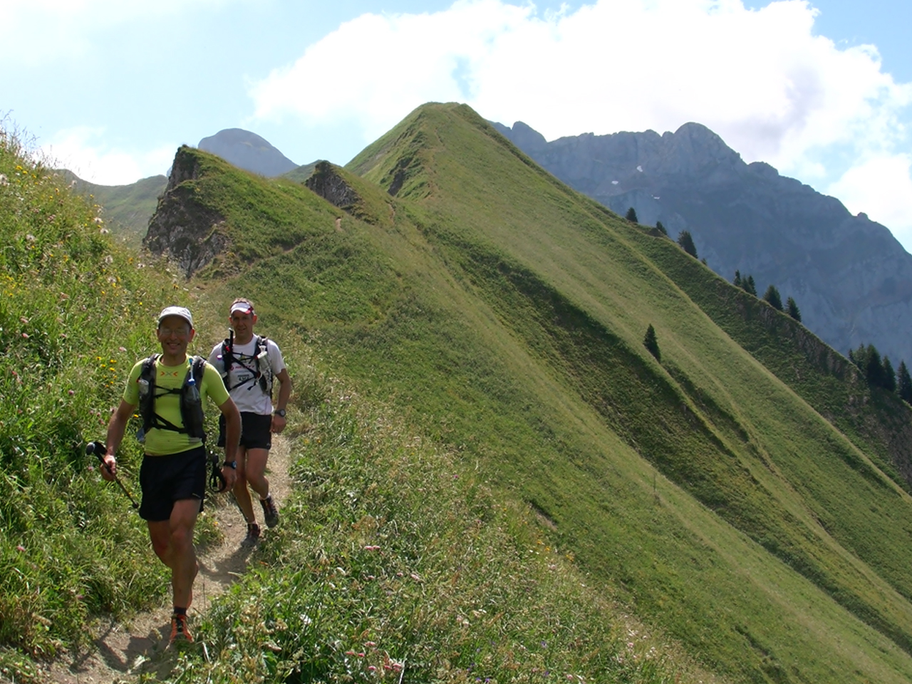 Trailrunning - Col de Bise graad