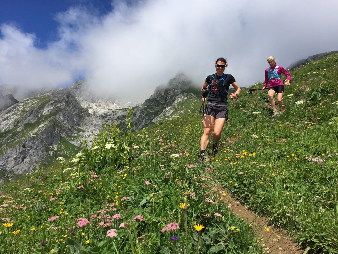 Trailrunning - Jorien en Linda