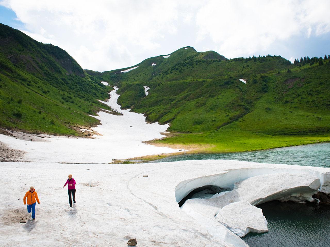 Trailrunning - Over de sneeuw